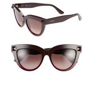 Women's Cat Eye Stud Sunglasses